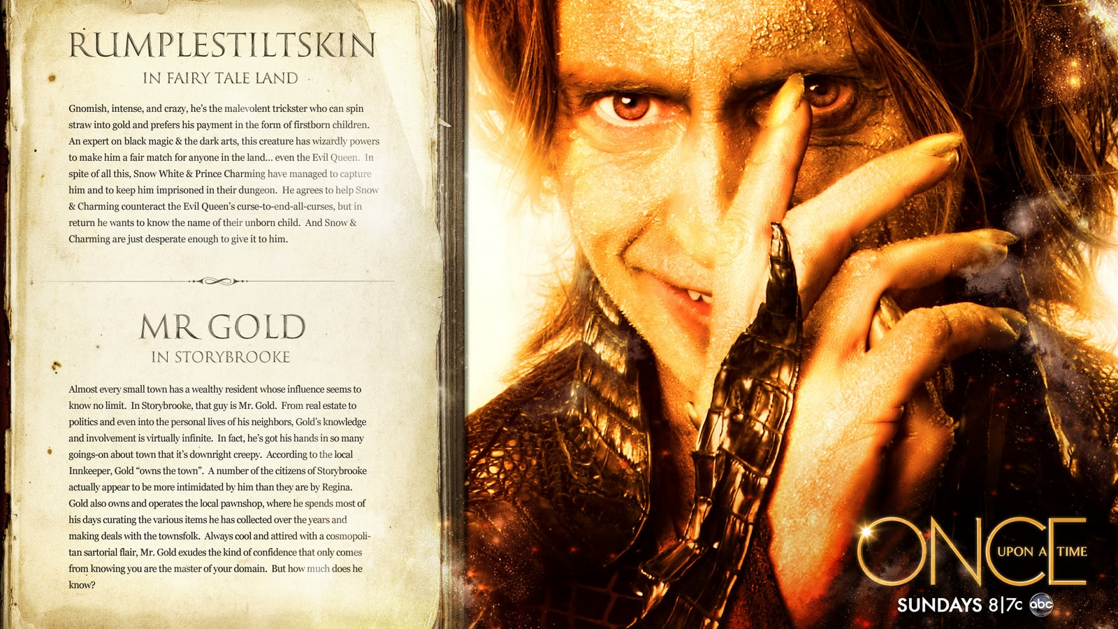 Once Upon A Time Rumpelstiltskin Costume The Power of a N...