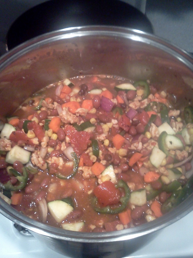 Weight Watchers 5 Points Plus Turkey Chili