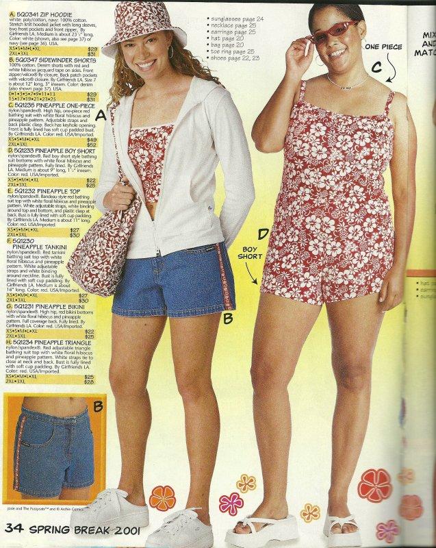 Girlfriends LA Catalog  Bathing Suit