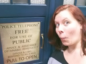 Escape into the TARDIS