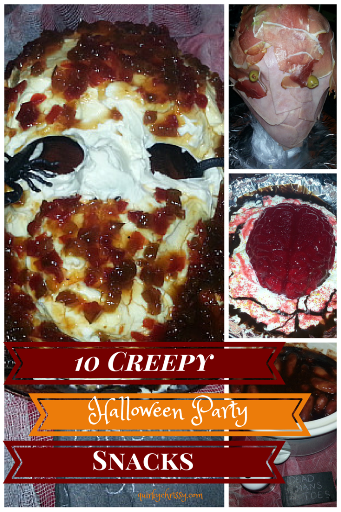 When Halloween rolls around, I like to be the hostess with the mostest and show off my creative mad-scientist skills in the cauldron and make seriously creepy party food.
