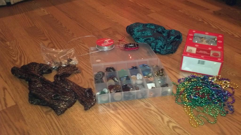 DIY Ornament materials
