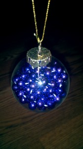 Purple Beads Ornament