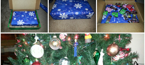 How to Sneakily Wrap Christmas Presents