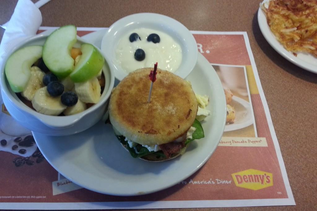 Denny's Breakfast Sandwich