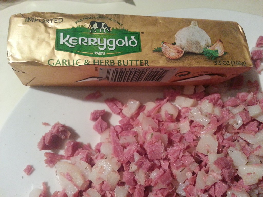Kerry Gold Irish Butter with Garlic and Herbs
