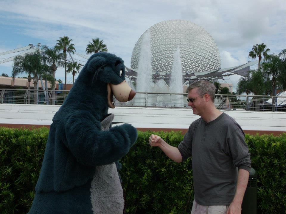Brian and Baloo