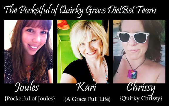 Pocketful of Quirky Grace DietBet Team