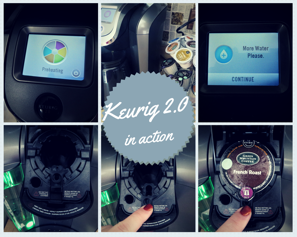 Keurig 2.0 in action
