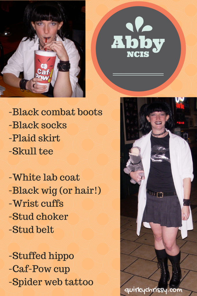 DIY ABBY NCIS Costume