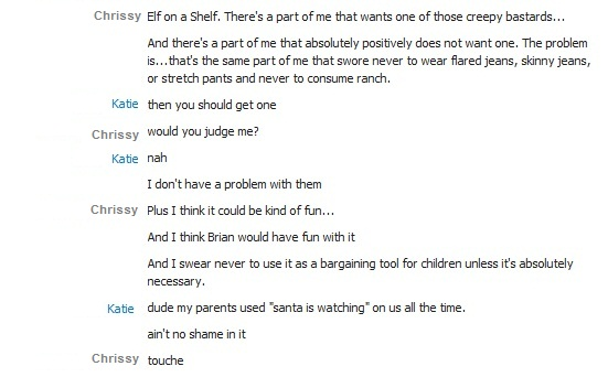 A Skypeversation with Katie