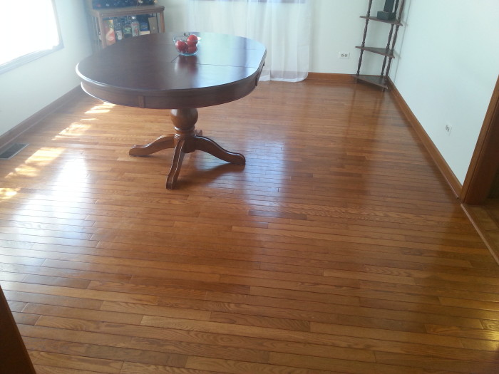 Clean your hardwood floors