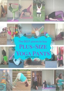 I have spent the last 8 months on the hunt for the best plus-size yoga pants around. These are my favorites.