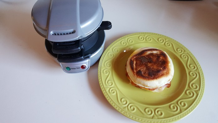 Make your own Egg McMuffins with the Hamilton Beach Breakfast Sandwich Maker