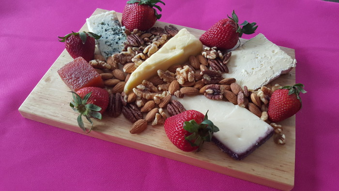 how to make a cheese platter at home