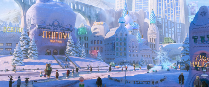 Zootopia Anna and Elsa Frozen Easter Egg