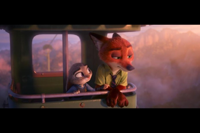 Zootopia Nick Wilde and Judy Hopps