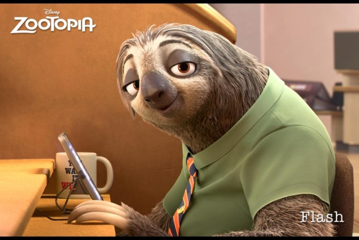 Zootopia Sloths - Flash