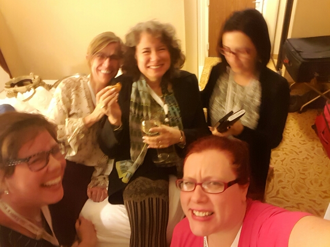 Erma Bombeck and awesome writers including Gina Barecca