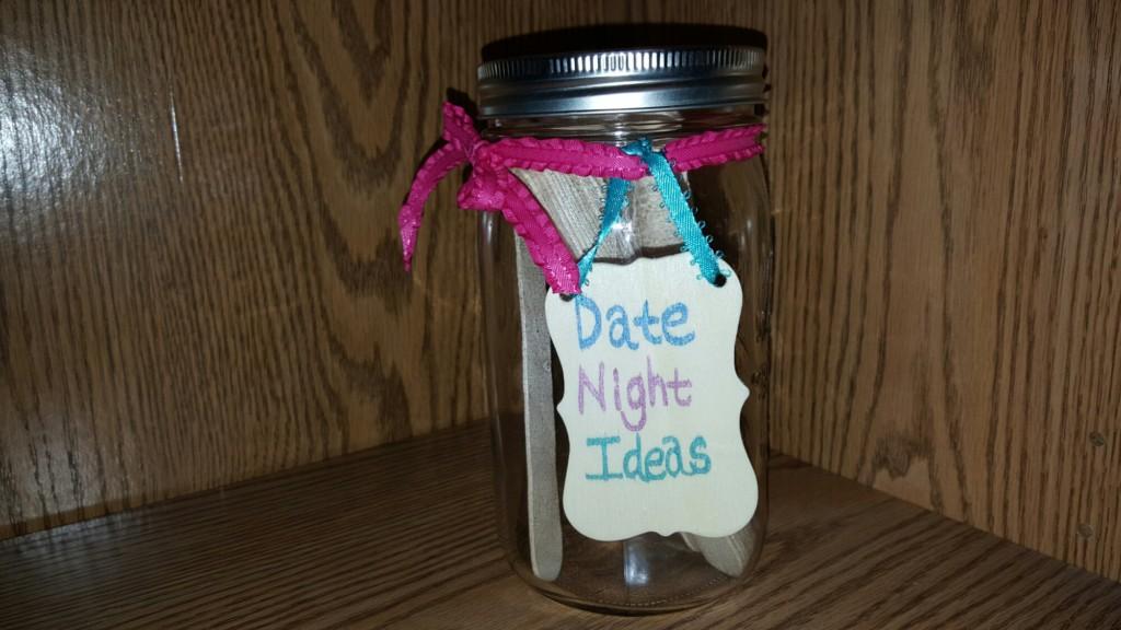Wedding shower games: Date Jar