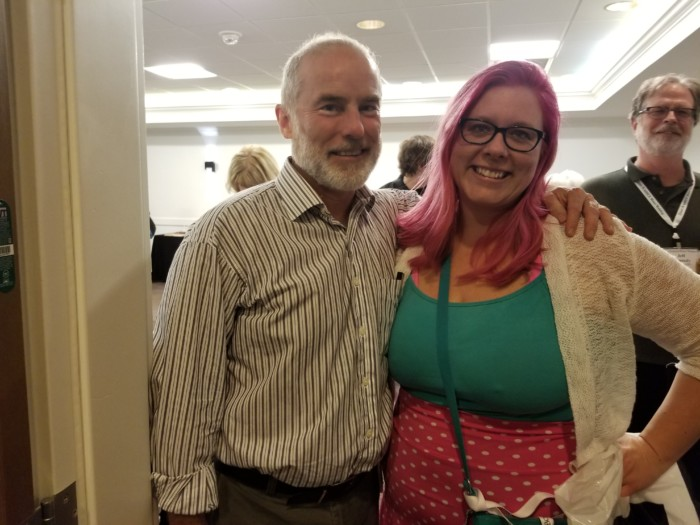 This poor man. I fangirled John Grogan so hard I cried. He is, though, one of the writers that made me want to be a writer, so I think a little obnoxious fangirling was to be expected.