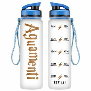 Aguamenti reusable water bottle