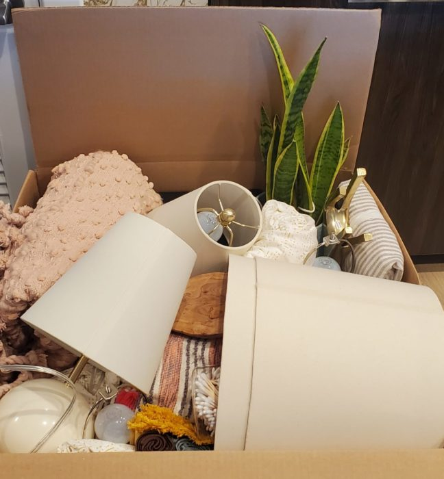 HomeGoods Hideout Takeout Box