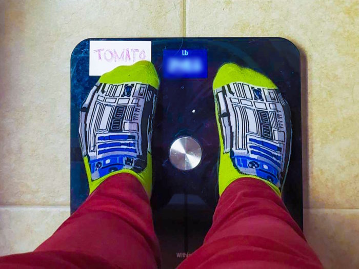 I'm getting rid of my scale
