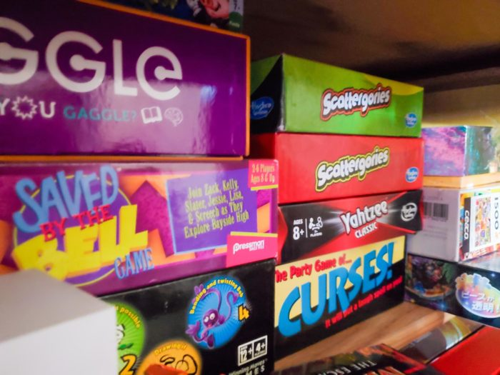Party games Scattergories